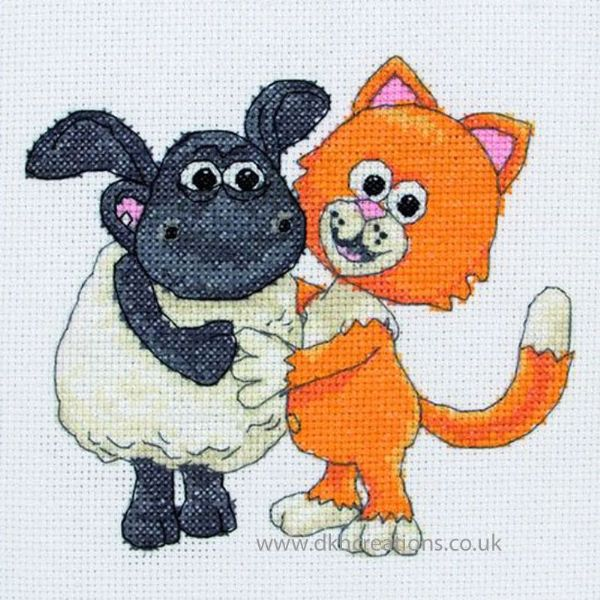 Timmy Time Mittens And Timmy Cross Stitch Kit